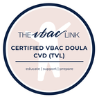 Sara is an Advanced Doula Certified with The VBAC LinkPicture